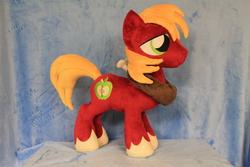 Size: 2256x1504   Tagged: safe, artist:whitedove-creations, big macintosh, earth pony, pony, irl, male, photo, plushie, solo, stallion