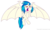 Size: 4652x2837 | Tagged: alicorn, artist:velaremlp, bat ponified, bat pony, bat pony alicorn, bat wings, cutie mark, dj pon-3, fangs, female, hooves, horn, large wings, mare, open mouth, pony, race swap, safe, simple background, solo, spread wings, teeth, transparent background, unicorn, vector, vinylbat, vinylcorn, vinyl scratch, wings