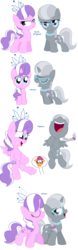 Size: 1612x5172 | Tagged: safe, artist:pupster0071, diamond tiara, scootaloo, silver spoon, alicorn, earth pony, pegasus, pony, unicorn, alicornified, all pony races, comic, female, filly, glasses, laughing, race swap, sad, scootaloo can't fly, silvercorn, simple background, tiaracorn, white background