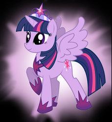 Size: 1024x1118 | Tagged: safe, artist:pinkanon, twilight sparkle, alicorn, pony, palindrome get, twilight sparkle (alicorn)