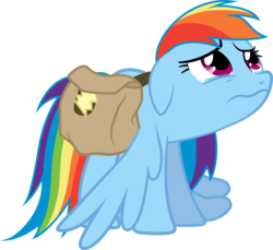 Size: 4992x4568 | Tagged: safe, artist:abion47, rainbow dash, games ponies play, absurd resolution, crying, sad, simple background, transparent background, vector