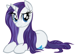 Size: 2880x2000 | Tagged: safe, artist:cartoontiger, artist:whitediamonds, rarity, cute, female, prone, raribetes, simple background, solo, transparent background, vector, wet, wet mane, wet mane rarity