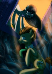 Size: 1240x1748 | Tagged: artist:katiegreenfoxkater, doctavia, doctor whooves, octavia melody, safe, time turner