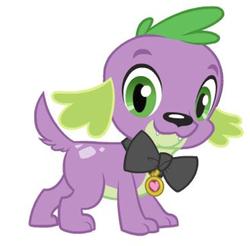My little pony spike dog