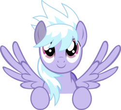 Size: 1283x1168   Tagged: safe, cloudchaser, pony, cute, simple background, smiling, transparent background, vector