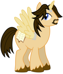 Size: 1024x1195 | Tagged: artist:jackofmosttrades, larsoncorn, m.a. larson, oc, ponified, safe, tape