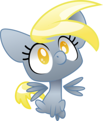 Size: 3355x3932 | Tagged: artist:22bubble-eyes22, chibi, derpy hooves, female, mare, pegasus, pony, safe, solo
