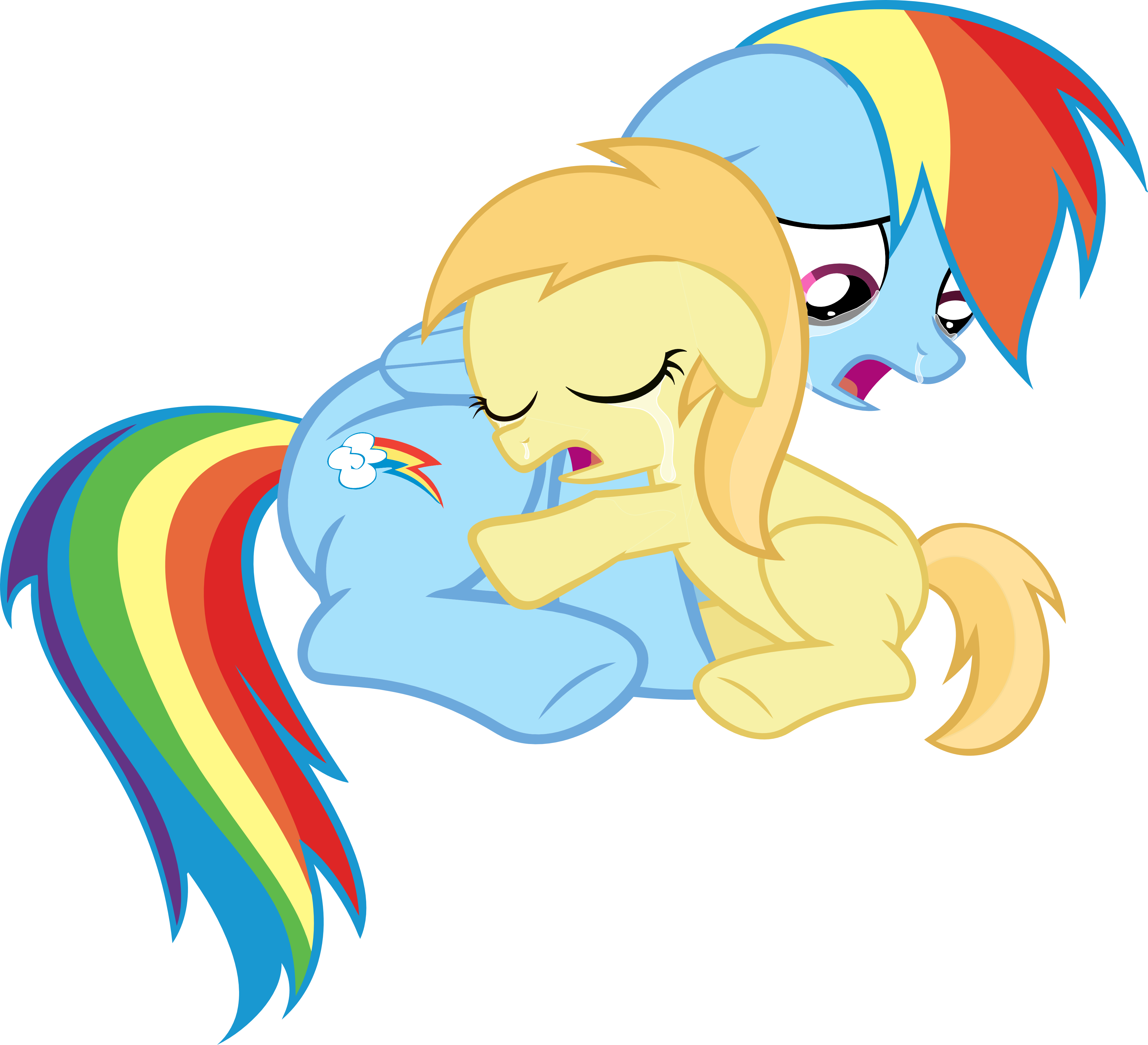Pix for gt rainbow dash crying