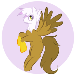 Size: 657x643 | Tagged: artist:half-pint-hero, gilda, ponified, safe, species swap