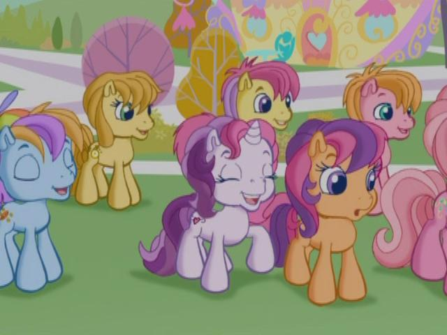 256207 Background Pony Boy Ponies Colt G3 5 Male Pinkie Pie G3 Pony Safe Scootaloo G3 Sweetie Belle G3 Unnamed Pony Derpibooru Cheerilee and scootaloo are sisters. background pony boy ponies colt g3 5