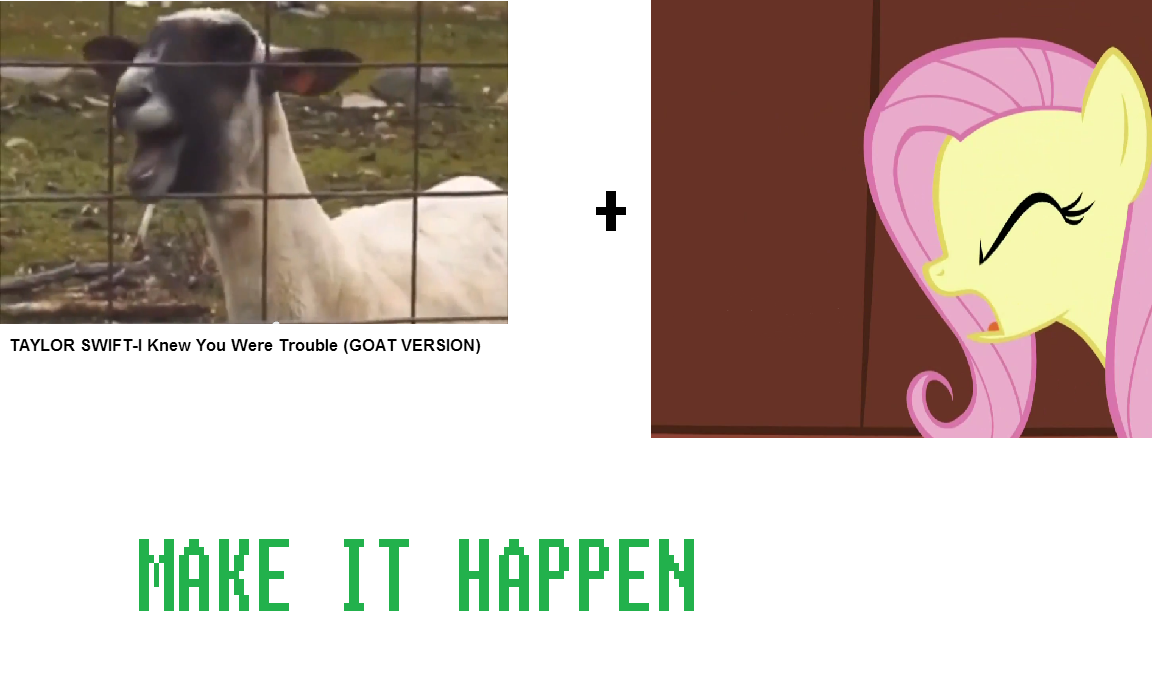 258311 exploitable meme fixedsys fluttershy goat green isn t