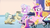 Size: 1440x810 | Tagged: safe, screencap, cinnabar, golden hooves, princess cadance, quicksilver, alicorn, crystal pony, pony, games ponies play, background pony, bowing, dandy brush, female, mare, messenger, raised eyebrow, saddle bag, spa, winged shoes