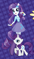 Size: 332x565 | Tagged: safe, rarity, equestria girls, official, human ponidox, humanized, self ponidox, stock vector