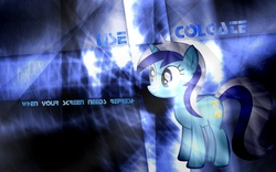 Size: 1680x1050 | Tagged: artist:helsoul3, minuette, safe, vector, wallpaper