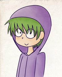 Size: 800x1000 | Tagged: safe, artist:dinosauriomutante, spike, clothes, hoodie, humanized