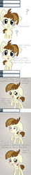 Size: 1000x5577 | Tagged: safe, artist:minkidoodles, featherweight, ask, blushing, comic, feathersqueak, feathertiara, featherweight responds, shipping, tumblr