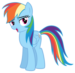Size: 9167x8900 | Tagged: safe, artist:discorded, part of a set, rainbow dash, games ponies play, absurd resolution, bedroom eyes, crystal empire cheer meme, female, simple background, solo, transparent background, vector
