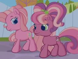 Size: 640x480 | Tagged: safe, screencap, cheerilee (g3), pinkie pie (g3), pony, twinkle wish adventure, g3, g3.5