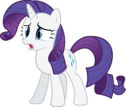 Size: 4703x4000 | Tagged: safe, artist:the-crusius, rarity, reaction image, simple background, transparent background, vector