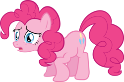 Size: 4537x3000 | Tagged: safe, artist:the-crusius, pinkie pie, reaction image, simple background, transparent background, vector