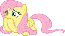 Size: 5450x3000 | Tagged: safe, artist:the-crusius, fluttershy, reaction image, simple background, transparent background, vector