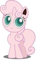Size: 443x733 | Tagged: safe, edit, sweetie belle, jigglypuff, nintendo, pokémon, recolor