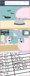 Size: 660x1645 | Tagged: safe, artist:mixermike622, nurse redheart, oc, oc:fluffle puff, shark, tumblr:ask fluffle puff, ask, fluffy, hospital, tumblr