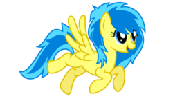 Size: 5263x3000 | Tagged: safe, artist:blueblitzie, oc, oc only, oc:blueberry blitz, pegasus, pony, flying, simple background, solo, transparent background, vector