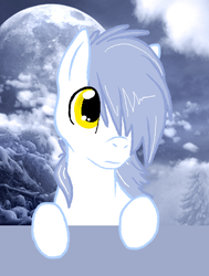 Size: 352x465 | Tagged: artist needed, safe, oc, oc only, pegasus, pony, winter