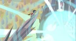 Size: 855x466 | Tagged: safe, screencap, king sombra, pinkie pie, shining armor, crystal pony, pony, unicorn, the crystal empire, crystal empire, crystal heart, imminent death, reaction image