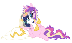 Size: 1530x911 | Tagged: safe, artist:reina-del-caos, princess cadance, shining armor, clothes, dress, female, gleaming bolero, gleaming shield, hug, male, prince bolero, rule 63, straight, wedding dress