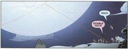 Size: 1829x703   Tagged: safe, artist:amy mebberson, idw, applejack, fluttershy, pinkie pie, princess celestia, princess luna, rainbow dash, spike, twilight sparkle, spoiler:comic, celestial mechanics, lasso, moon, official, rope, s1 luna
