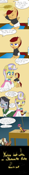 Size: 800x4800   Tagged: safe, artist:jake heritagu, jet set, scootaloo, upper crust, oc, oc:lightning blitz, oc:sandy hooves, pegasus, pony, april fools joke, baby, baby pony, bad end, bipedal, brush, colt, comic, crying, diaper, execution, female, foal, hanging (by neck), holding a pony, imminent death, male, mare, motherly scootaloo, noose, offspring, older, older scootaloo, parent:rain catcher, parent:scootaloo, parents:catcherloo, stallion, tongue out