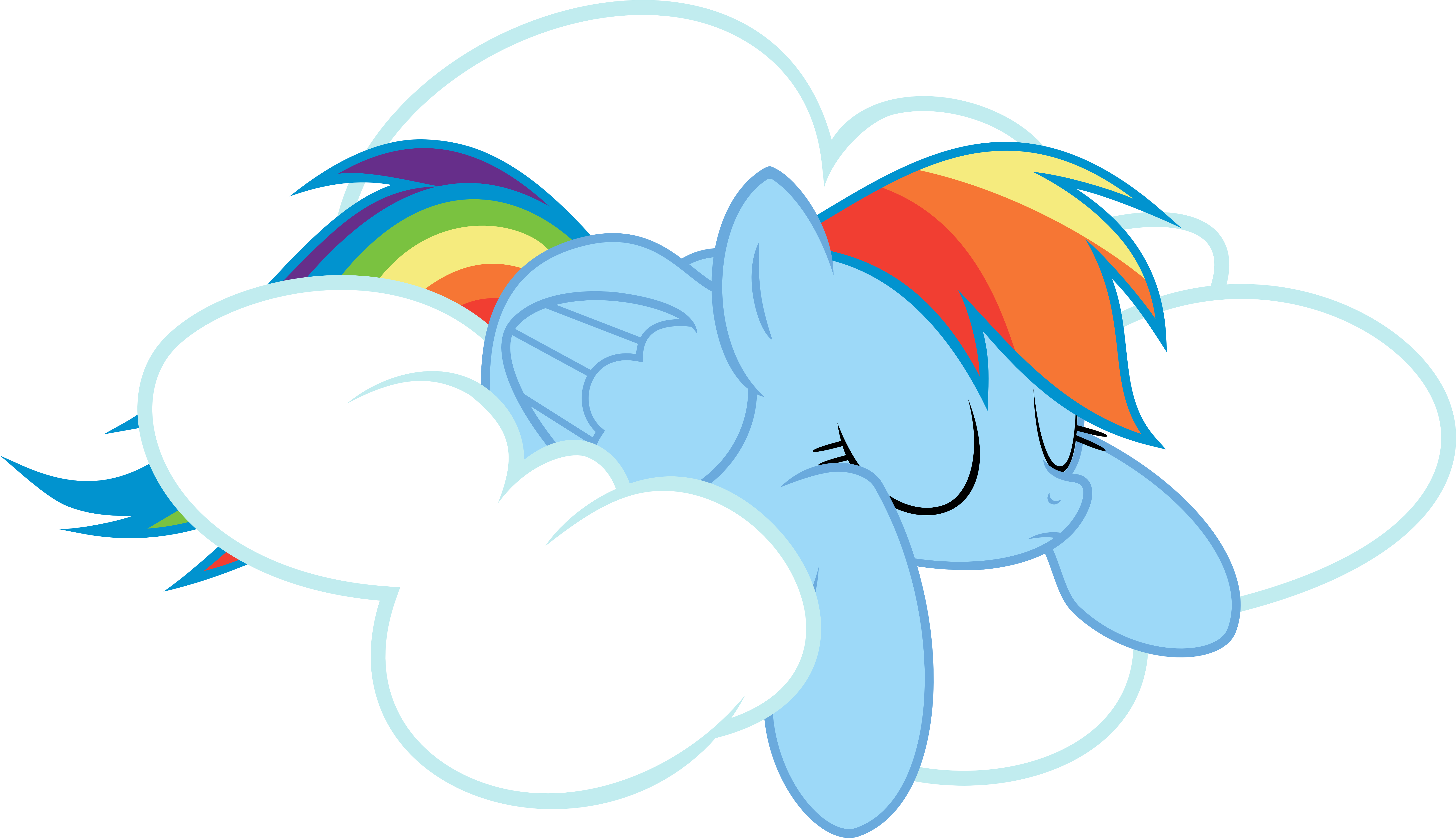 mlp rainbow dash cloud vector images galleries with a bite. Black Bedroom Furniture Sets. Home Design Ideas