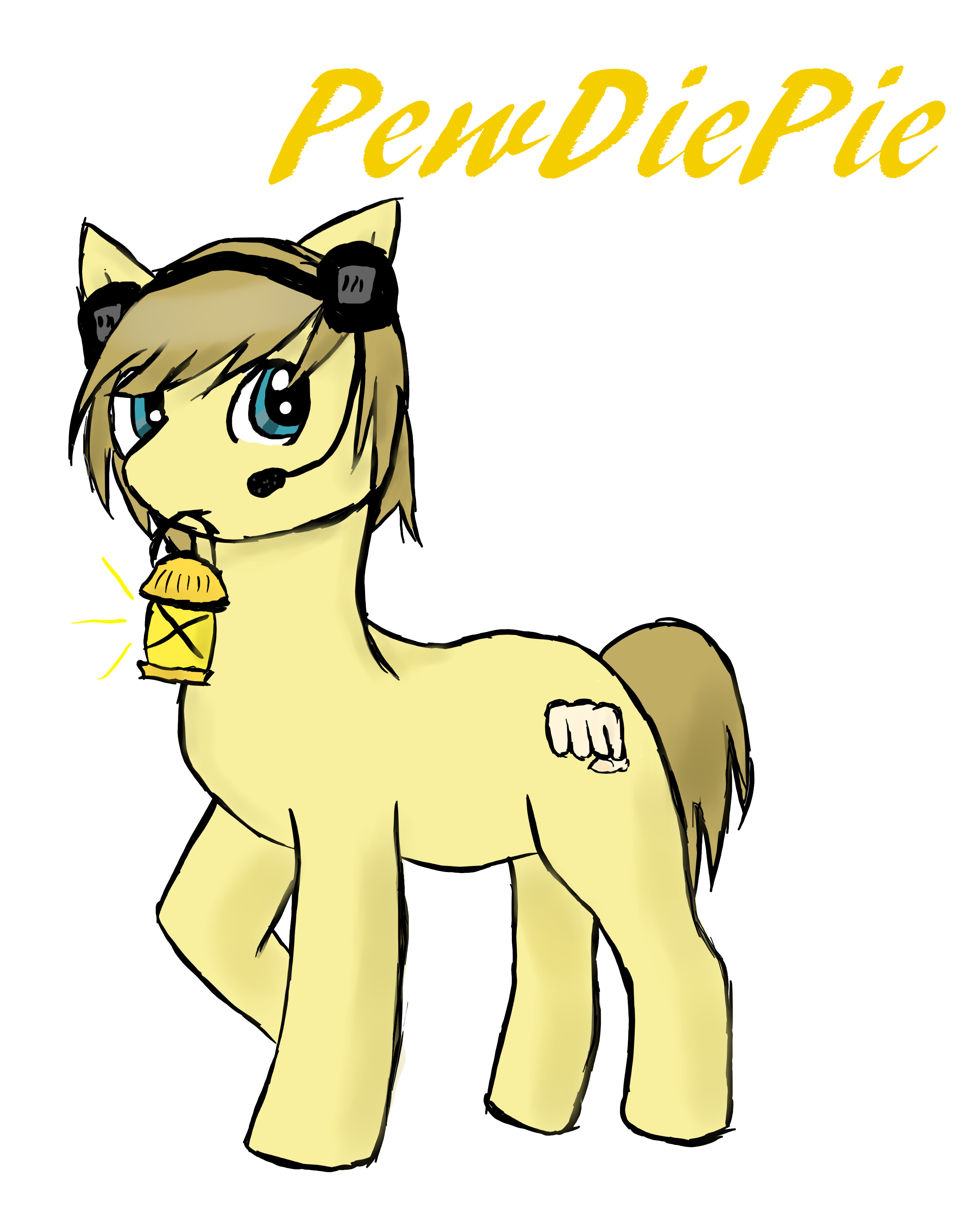Tobuscus x Pewdiepie (Ponified) - Visual Fan Art - MLP Forums