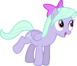 Size: 10730x9172 | Tagged: dead source, safe, artist:quanno3, flitter, pegasus, pony, absurd resolution, bow, cute, example, female, flitterbetes, hair bow, looking up, mare, open mouth, raised leg, simple background, smiling, solo, transparent background, vector
