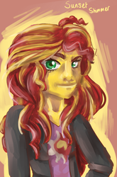 Size: 486x738 | Tagged: artist needed, safe, sunset shimmer, equestria girls