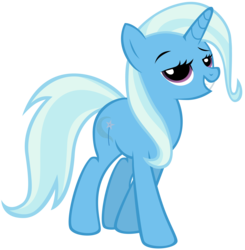 Size: 7336x7500 | Tagged: absurd res, artist:maximillianveers, female, mare, pony, safe, simple background, smirk, solo, strut, transparent background, trixie, unicorn, vector
