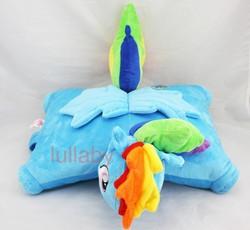 Size: 653x600 | Tagged: safe, rainbow dash, bootleg, irl, photo, pillow, pillow pet, plushie, solo, wat
