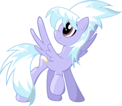Size: 5000x4366 | Tagged: safe, artist:artpwny, cloudchaser, pegasus, pony, absurd resolution, simple background, solo, takeoff, transparent background, vector, vector artwork