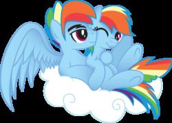 Size: 1003x719   Tagged: safe, artist:drawponies, artist:jakage, rainbow dash, dashblitz, female, male, rainbow blitz, rule 63, self ponidox, selfcest, shipping, straight