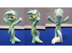 Size: 674x501 | Tagged: safe, pony, 3d print, bipedal, human behavior