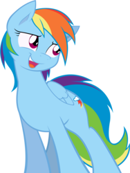 Size: 7536x10000 | Tagged: safe, artist:alexpony, artist:joey darkmeat, rainbow dash, pegasus, pony, .psd available, absurd resolution, female, mare, open mouth, simple background, solo, transparent background, vector