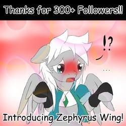 Size: 576x576 | Tagged: safe, artist:tarenest, oc, oc only, oc:zephyr wing, oc:zephyrus wing, pegasus, pony, comic sans, female, mare, rule 63, tumblr