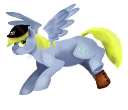 Size: 3000x2583 | Tagged: artist:0blackrainbowgirl0, derpy hooves, female, hat, mare, pegasus, pony, safe, solo