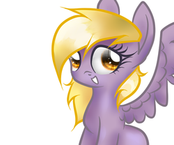 Size: 600x500 | Tagged: artist:sasifrass, derpy hooves, female, mare, pegasus, pony, safe, solo