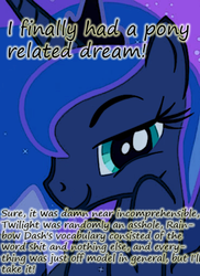 Size: 369x506 | Tagged: dream, insane pony thread, princess luna, safe, solo