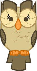 Size: 2000x3792 | Tagged: safe, artist:moongazeponies, owlowiscious, bird, owl, animal, looking at you, simple background, solo, transparent background, vector