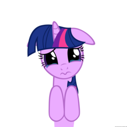 Size: 2500x2500 | Tagged: artist:navitaserussirus, crying, floppy ears, puppy dog eyes, puppy face, safe, solo, twilight sparkle