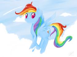 Size: 1600x1195 | Tagged: safe, artist:zoeezoee, rainbow dash, female, solo